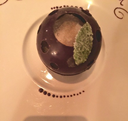 Le chocolathé-Carambar, fraîcheur de menthe poivrée