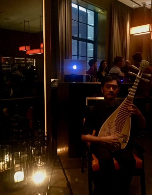 DJ et joueur de guitare chinoise