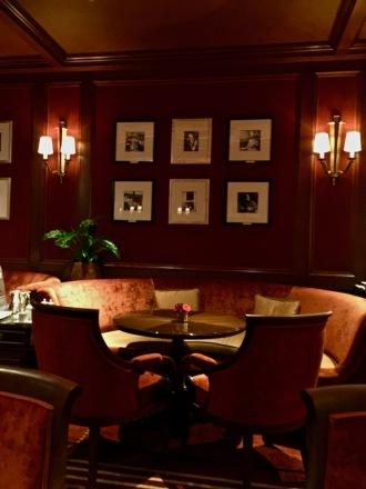 Banquettes du bar Vendôme
