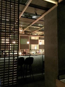 Le bar vue de la Salle