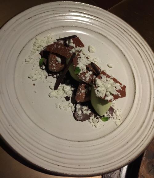 Fine Mousse Chocolat menthe et textures