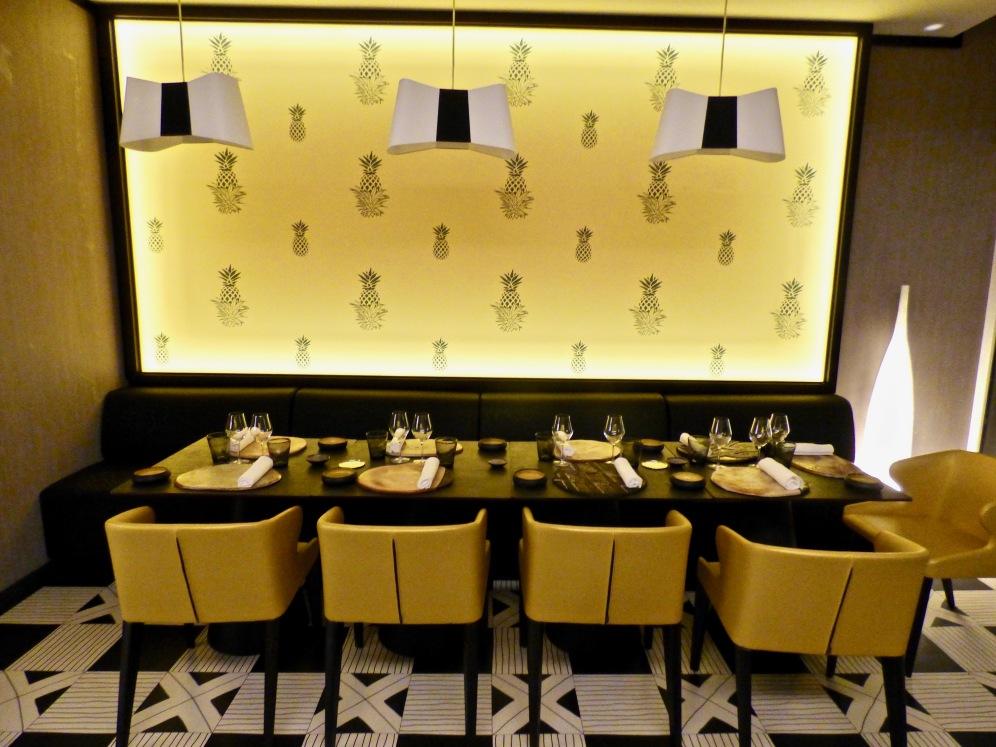La salle de La Table de Marcel