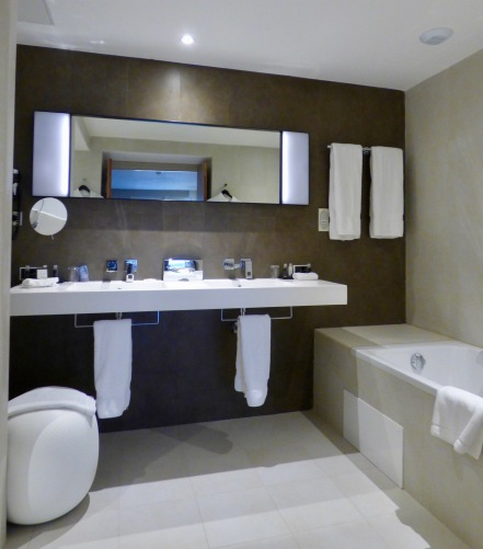 Salle de bain suite