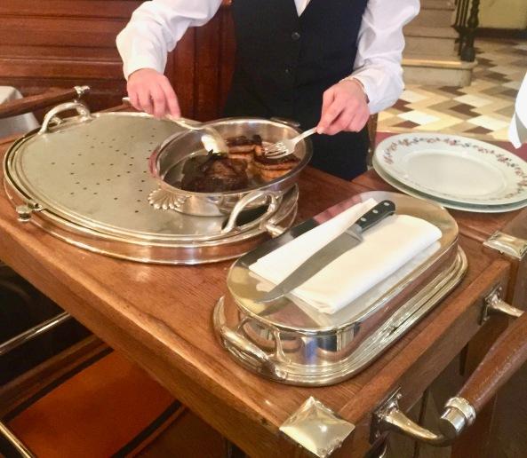 Préparation du Châteaubriand