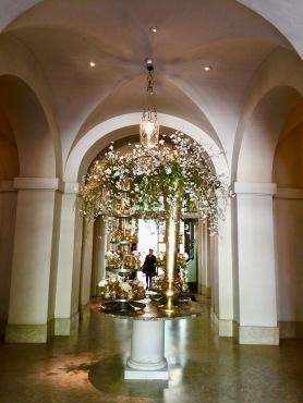 Le hall de l'Hôtel de Russie