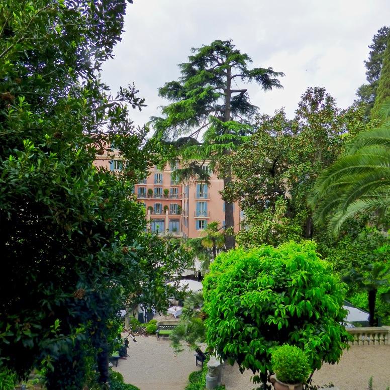 Le Jardin de l'Hôtel de Russie