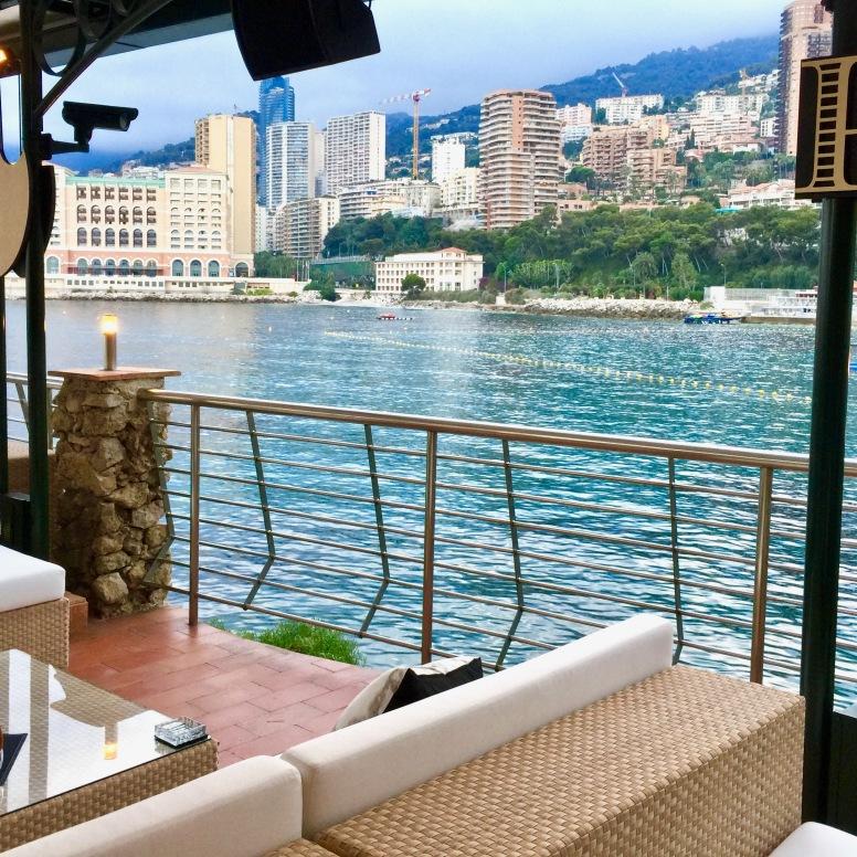 Vue du Lounge Dom Pérignon
