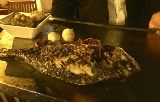 Une des pêches du jour : LaDaurade Royale grillée