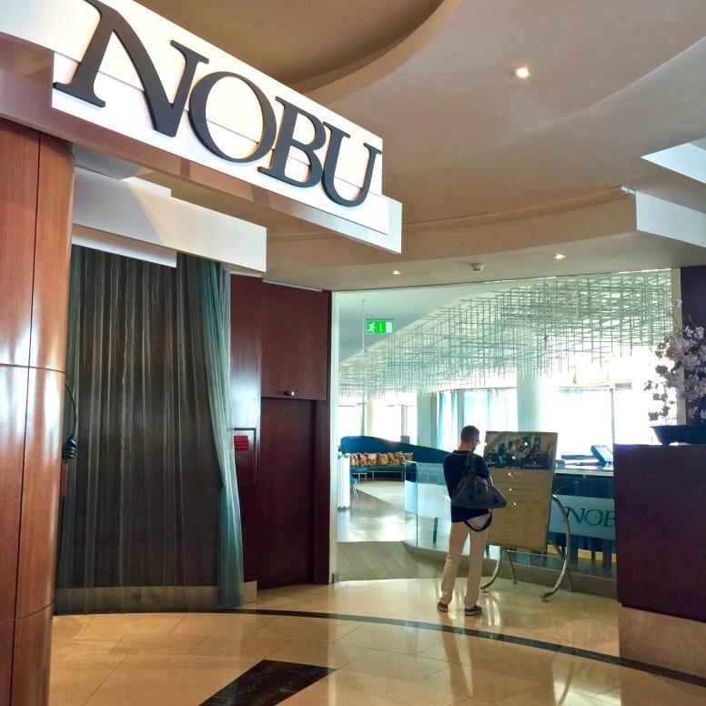 Entrée Nobu - Fairmont Monte Carlo