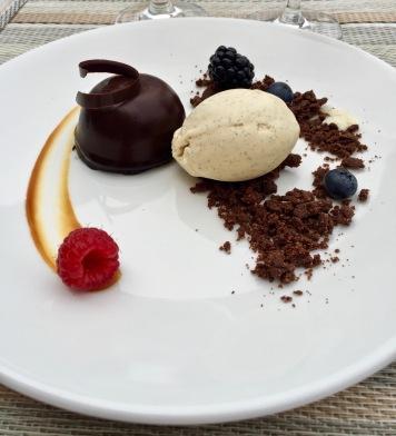 Dome chocolat