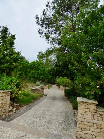Chemins d'accès aux Villas