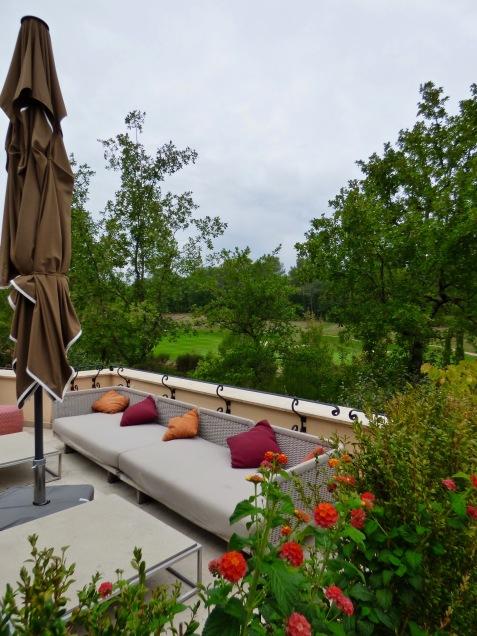 Terrasse -Lounge Club House