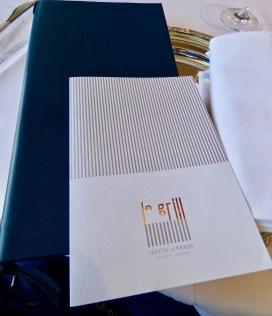 Design contemporain du logo Le Grill