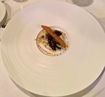 Tourteaux et homards marinés à la parisienne,