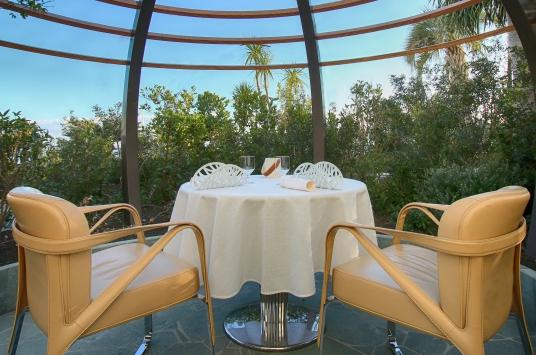 © SBM Les déjeuners Riviera - Terrasse des jardins de l'Hôtel de Paris