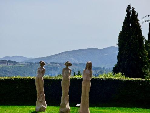 Les trois grâces de La Bastide Saint-Antoine ©lepetitlugourmand