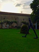 Coucher de soleil sur l'Abbaye de La Celle ©lepetitlugourmand