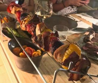 brochette de viande et légumes ©lepetitlugourmand