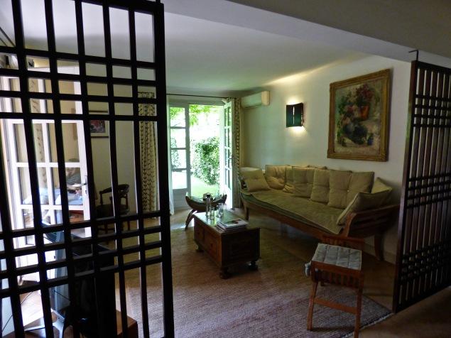 Le salon de la suite Perpétue de la Celle ©lepetitlugourmand