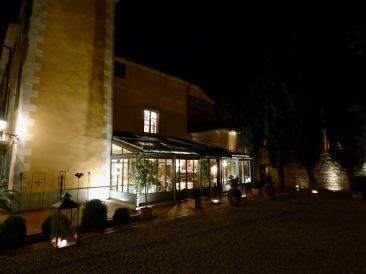 L'Hostellerie de l'Abbaye de la Celle - La verrière ©lepetitlugourmand