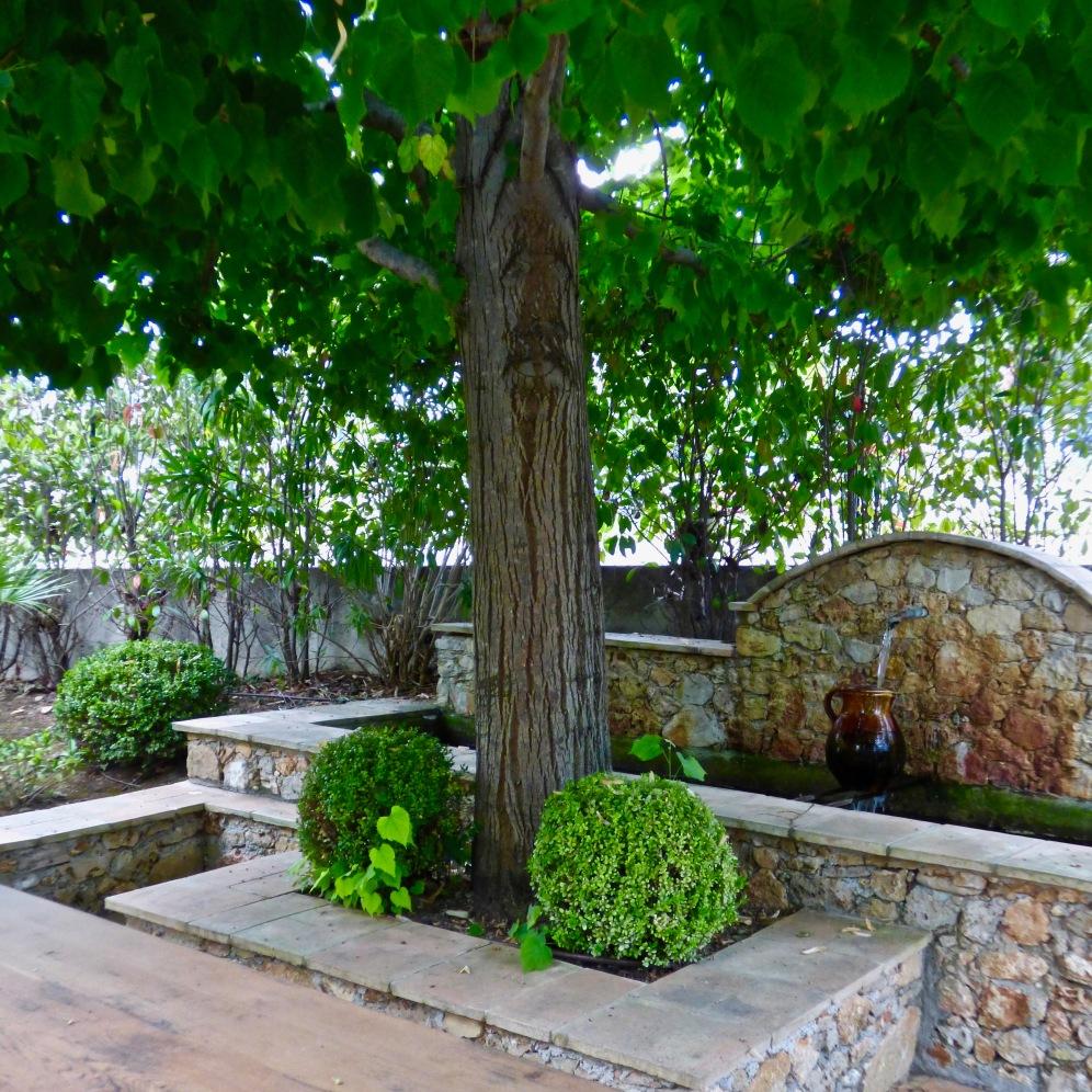 Un coin de la terrasse aménagée ©lepetitlugourmand