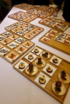 Les signatures de la cuisine Paolo Sari en version dégustation ©lepetitlugourmand