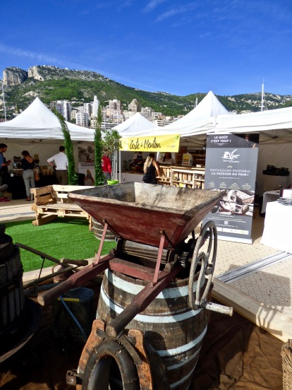 Le Village flottant de La Route du Goût au Quai Antoine 1er- Port de Monaco ©lepetitlugourmand