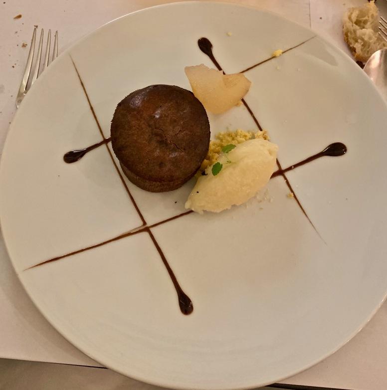 Le fondant chocolat ©lepetitlugourmand