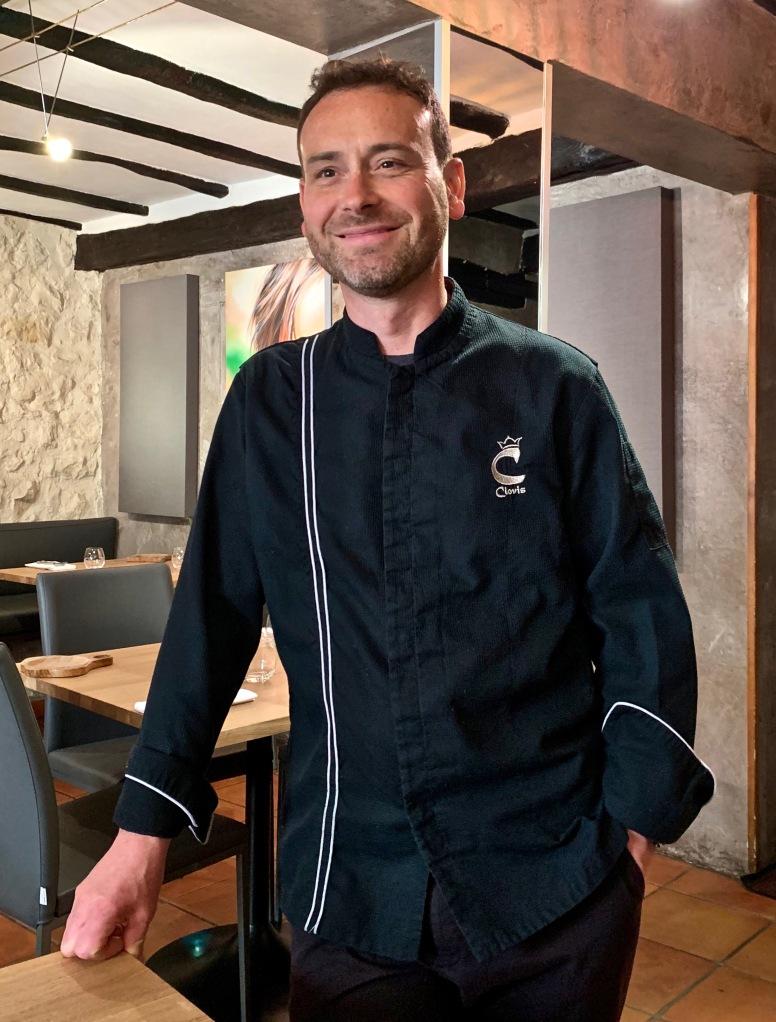 Le chef Julien Bousseau ©lepetitlugourmand