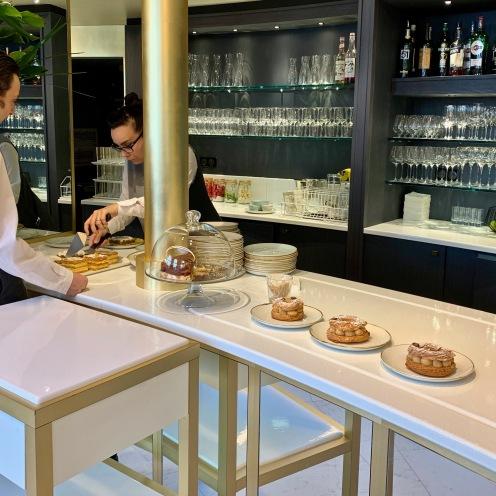 Les desserts en service ©lepetitlugourmand