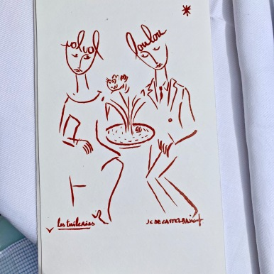 La carte by J.C de Castelbajac ©lepetitlugourmand