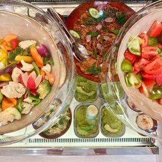 Salades et petites entrées Mada One ©lepetitlugourmand