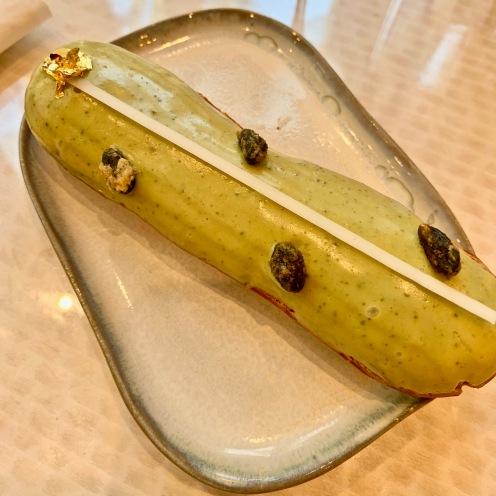 Eclair pistache ©lepetitlugourmand