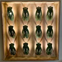 Cigales appliques Art et Artisanat ©lepetitlugourmand