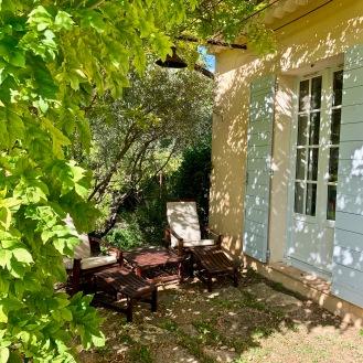 Bains de soleil de la suite Olive ©lepetitlugourmand