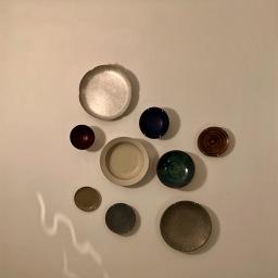 Vaisselle collection privée d'Alain Ducasse ©lepetitlugourmand