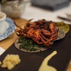 Tacos de crabes à carapaces molles ©LaÚnica