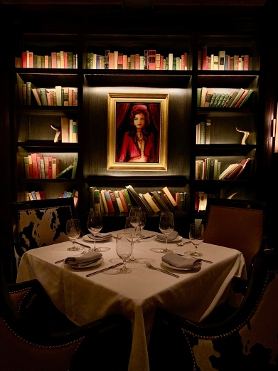 """Salle """"The Library"""" ©lepetitlugourmand"""