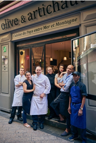 L'équipe d'Olive & Artichaut