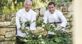 Les chefs Jacques Chibois et Laurent Barberot