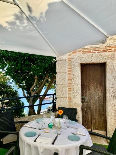 La terrasse Castelroc ©lepetitlugourmand