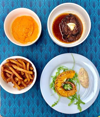 Fish & Chips de Poulpe et Joue de Boeuf Braisée ©lepetitlugourmand