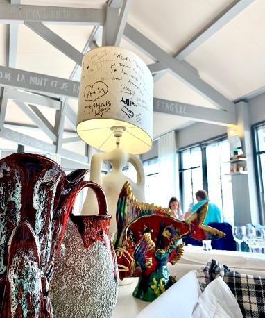 La collection de poteries de Vallauris ©lepetitlugourmand