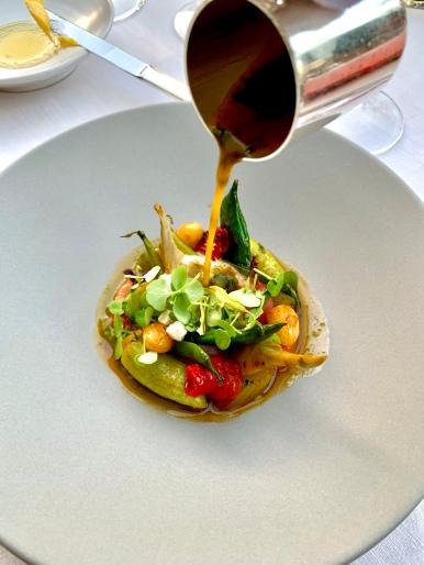Légumes et condiment d'un minestrone, basilic pilé ©lepetitlugourmand