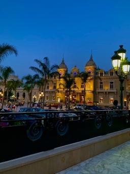 Place du Casino de nuit depuis la nouvelle terrasse ©lepetitlugourmand