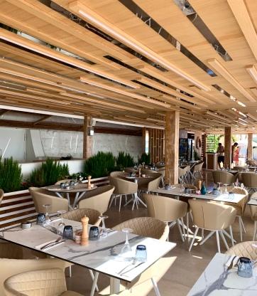 Restaurant Plage Les Canailles ©lepetitlugourmand