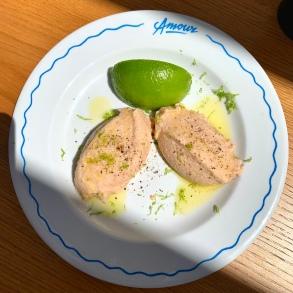 Le tarama maison à l'esprit de citron vert ©lepetitlugourmand
